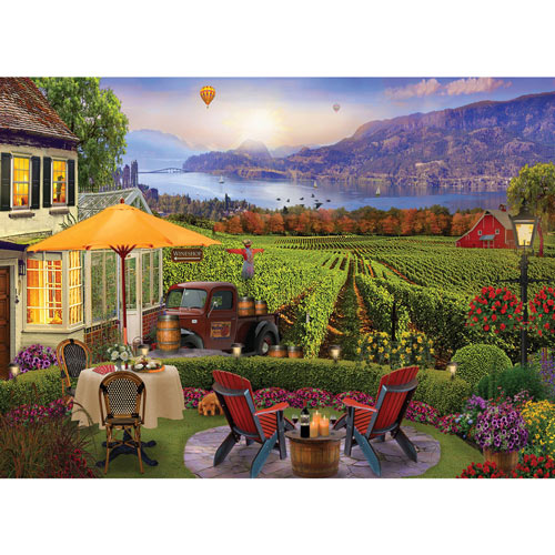 Wine Country 1000 Piece Jigsaw Puzzle