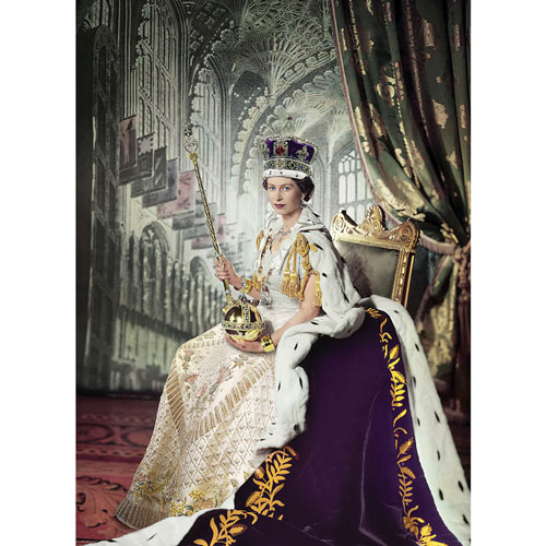 Queen Elizabeth II 1000 Piece Jigsaw Puzzle