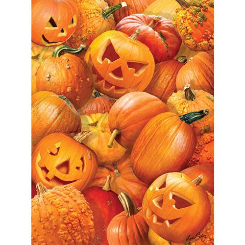 Pumpkin Challenge 1000 Piece Jigsaw Puzzle
