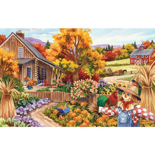 Living in the Country 100 Large Piece Jigsaw Puzzle