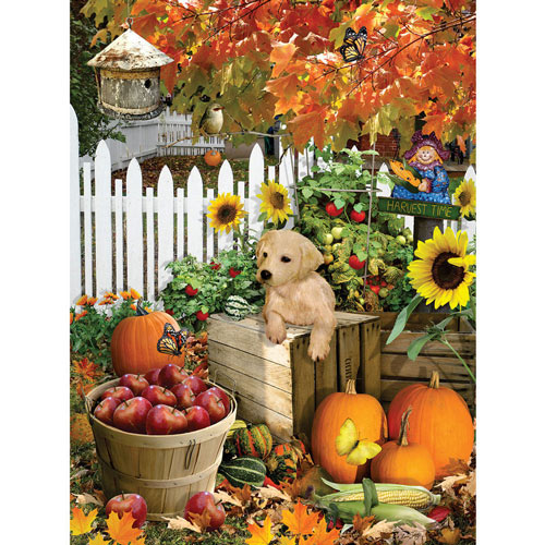 Harvest Puppy 300 Large Piece Jigsaw Puzzle
