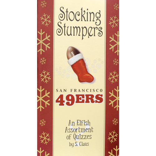 Football Stocking Stumpers Books- 49ers