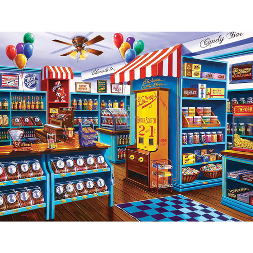 Stephanie's Candy Store 750 Piece Jigsaw Puzzle