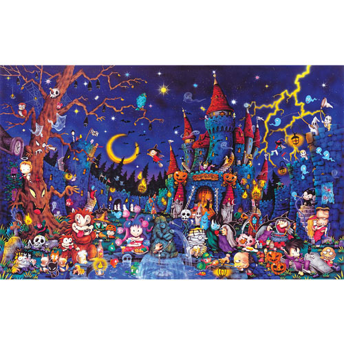 Spooky Night 300 Large Piece Jigsaw Puzzle