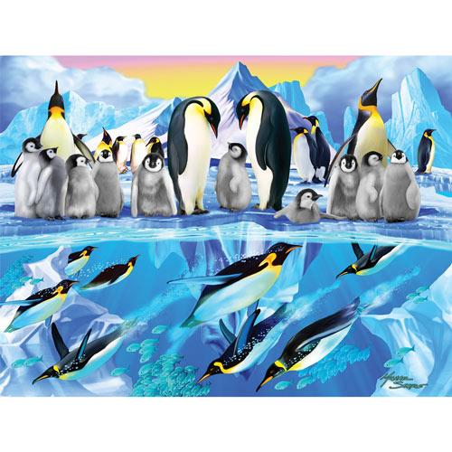Penguin Place 300 Large Piece Jigsaw Puzzle