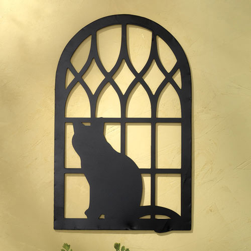 Cat Silhouette Wall Art