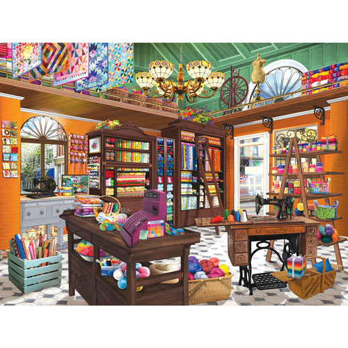 Spools 'n Bolts 300 Large Piece Jigsaw Puzzle