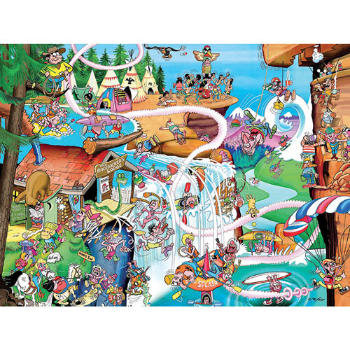 Rocky Mountain 300 Large Piece Jigsaw Puzzle