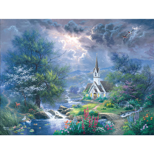 Sweet Hour of Prayer 300 Large Piece Jigsaw Puzzle