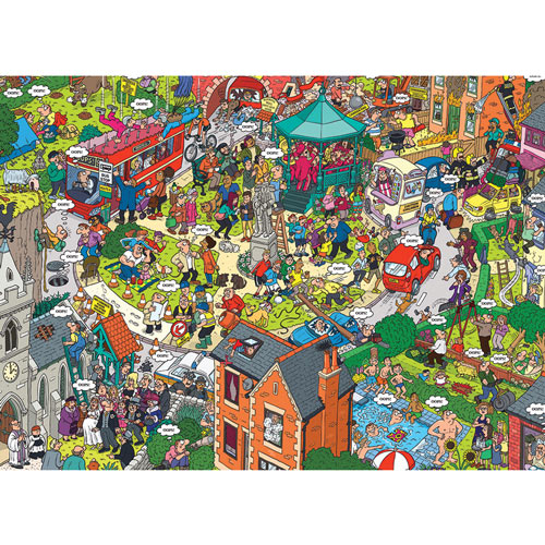 What Could Go Wrong? 500 Piece Jigsaw Puzzle