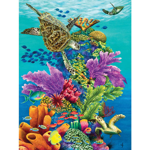 Sea Summit 300 Large Piece Jigsaw Puzzle