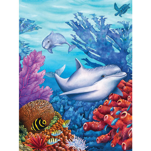 Reef Racers 300 Large Piece Jigsaw Puzzle