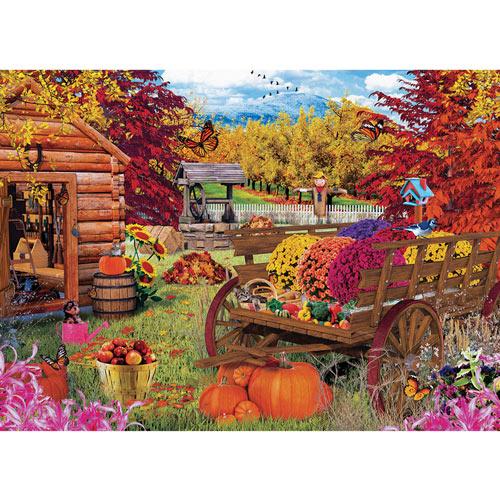 Autumn Garden 1000 Piece Jigsaw Puzzle