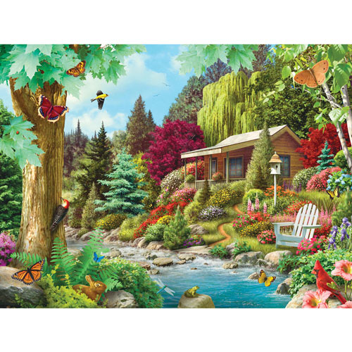 Time to Relax 300 Large Piece Jigsaw Puzzle