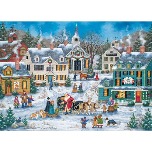 The Spirit of Christmas 1000 Piece Jigsaw Puzzle