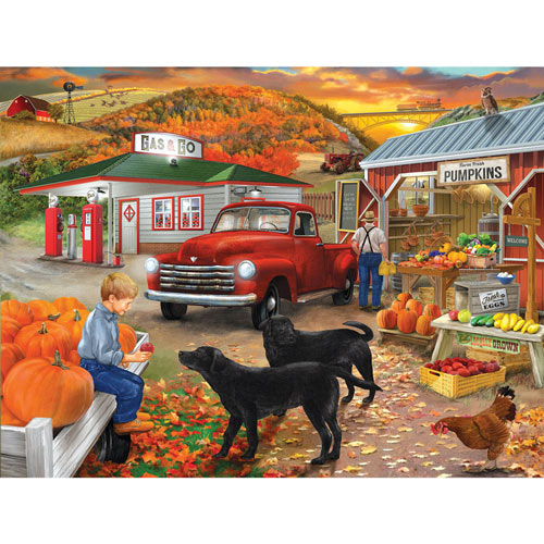 Roadside Stand 300 Large Piece Jigsaw Puzzle