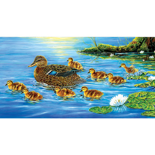 Baby Parade 300 Large Piece Jigsaw Puzzle