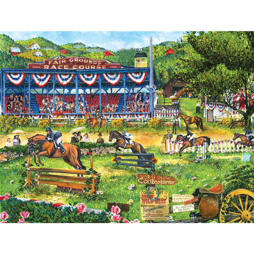 Day at the Races 300 Large Piece Jigsaw Puzzle