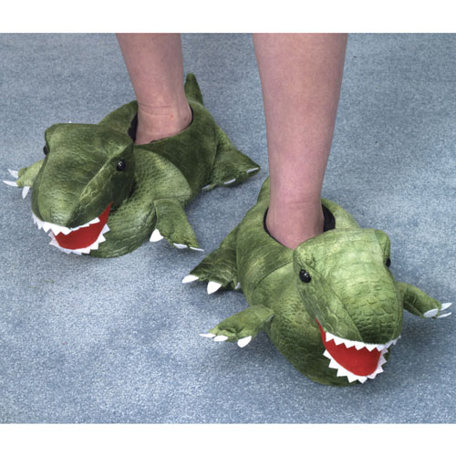 Crocodile Slippers