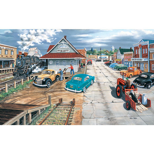 Tracking Memories 300 Large Piece Jigsaw Puzzle