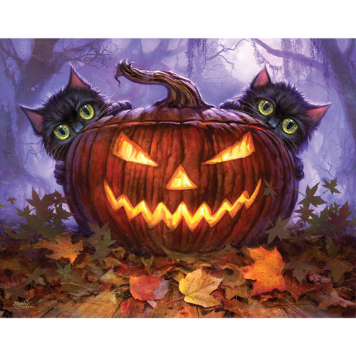 Scaredy-Cats 300 large Piece Jigsaw Puzzle