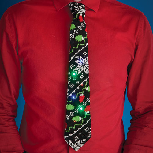 Light-Up Sweater Tie