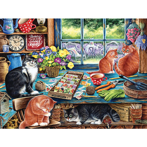 Cat's Retreat 1000 Piece Jigsaw Puzzle