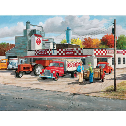 Grows Feed Store 300 Large Piece Jigsaw Puzzle