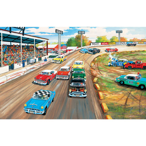 Thunder Road 550 Piece Jigsaw Puzzle