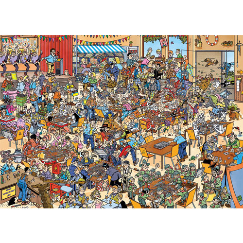 National Puzzling Championships 1000 Piece Jigsaw Puzzle