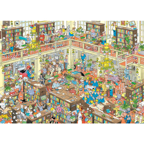 The Library 1000 Piece Jigsaw Puzzle
