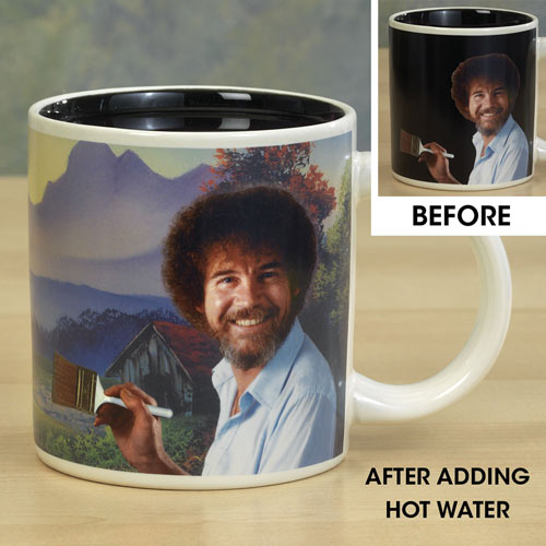 Bob Ross Color Changing Mug
