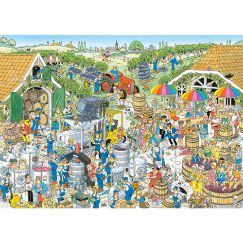 The Winery 1000 Piece Jigsaw Puzzle