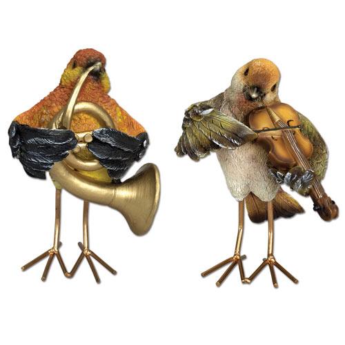Musical Birds Statues