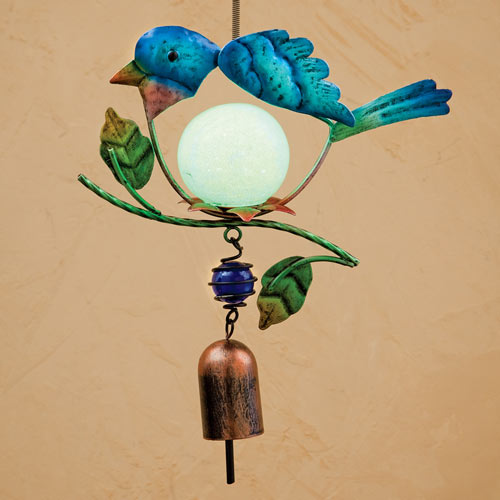 Hanging Glow Bird Chime