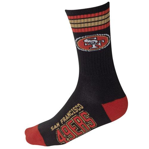 49ers NFL Team Socks