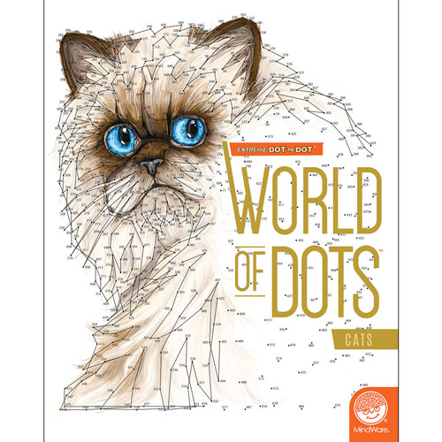 World of Dots Book- Cats