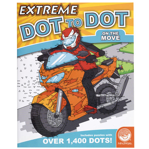 On the Move- Extreme Dot to Dot Book