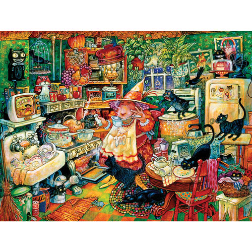 Witchin' Kitchen 300 Large Piece Jigsaw Puzzle