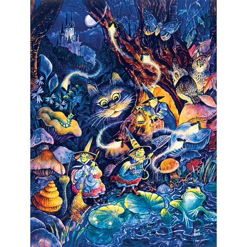 Three Witches 300 Large Piece Jigsaw Puzzle
