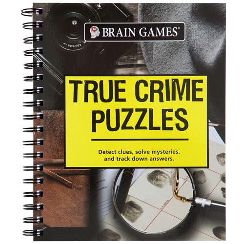 Crime Puzzle Book - True Crime