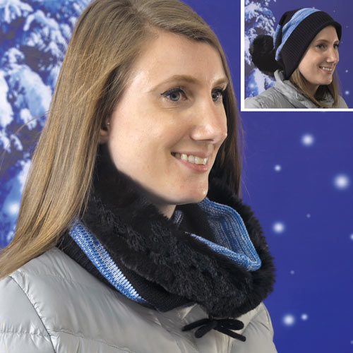 Scarf and Hat in One