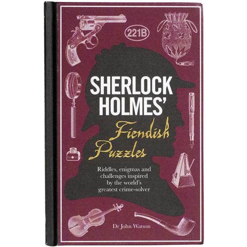 Sherlock Holmes' Fiendish Puzzles Book