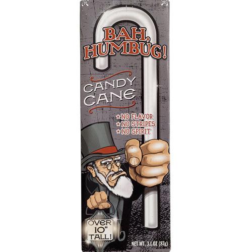 Jumbo Bah Humbug Candy Cane