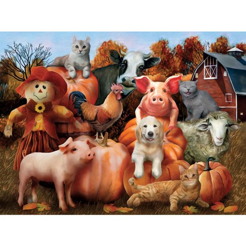 Family Portrait 300 Large Piece Jigsaw Puzzle