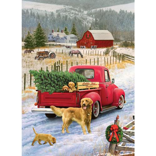 Christmas on the Farm 1000 Piece Jigsaw Puzzle
