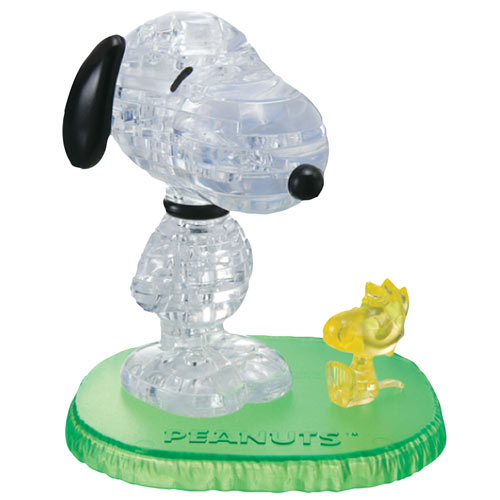 Snoopy and Woodstock Peanuts® 3D Crystal Puzzle