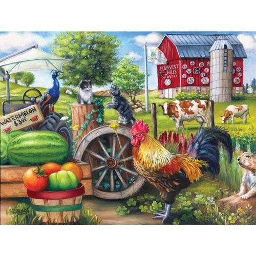 Farm Life 500 Piece Jigsaw Puzzle