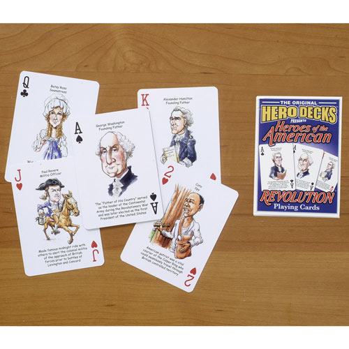 American Revolution Playing Cards