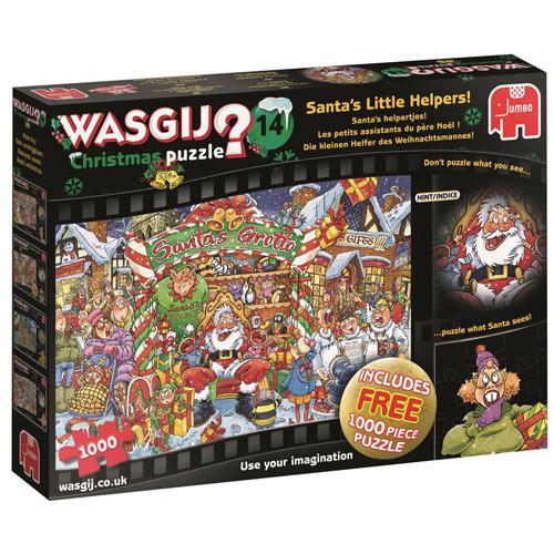 Santa's Little Helpers Wasgij 2 in 1 Multipack Set